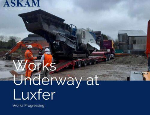 Works Underway at Luxfer