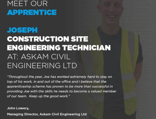 Joseph is the face of Preston College
